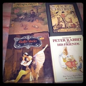 4 Books, Elementary Age, collectible
